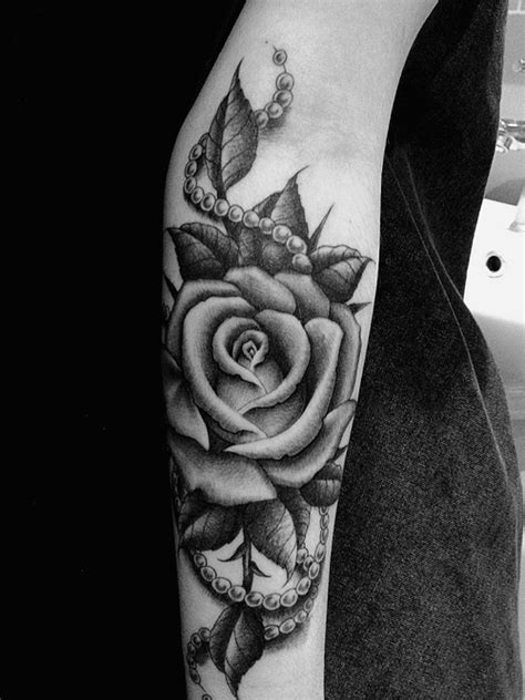 rose arm tattoos tumblr the gallery for gt thigh tattoos