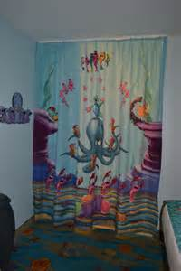 Luxury little mermaid shower curtain amazon mermaid shower curtain