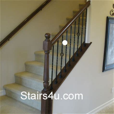 space between spindles banister guardrail baluster spacing