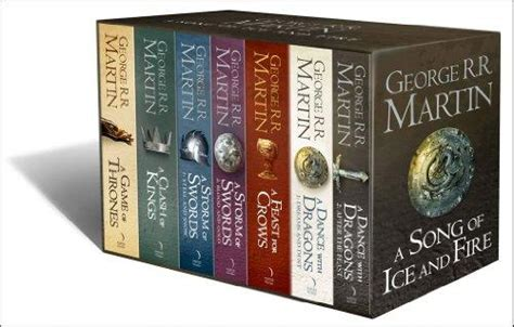 0007477155 a song of ice and 9780007477159 a song of ice and fire 7 volumes