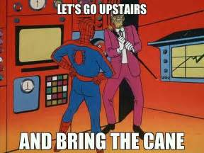 Spiderman Cartoon Meme - spiderman meme 60s spiderman memes pinterest