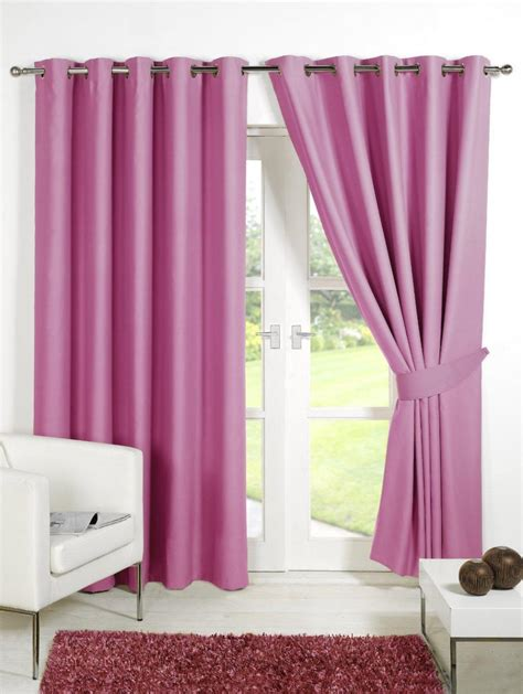 Pink Blackout Curtains Pink Gingham Curtains Blackout Curtain Menzilperde Net