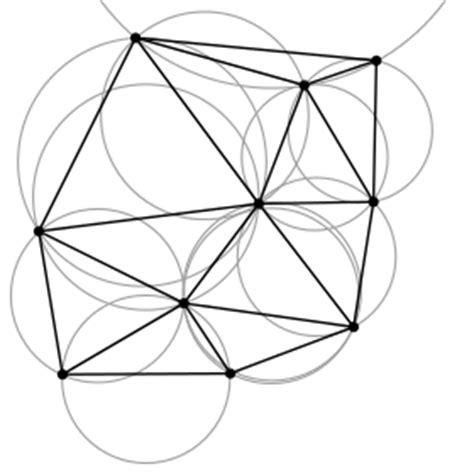 geometric pattern algorithm delaunay triangulation wikipedia