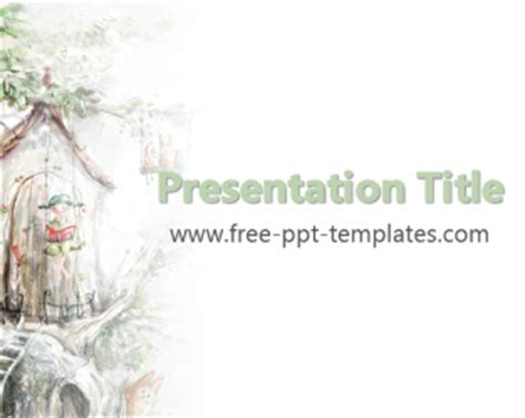 Tale Template Powerpoint Fairy Tale Ppt Template Free Powerpoint Templates