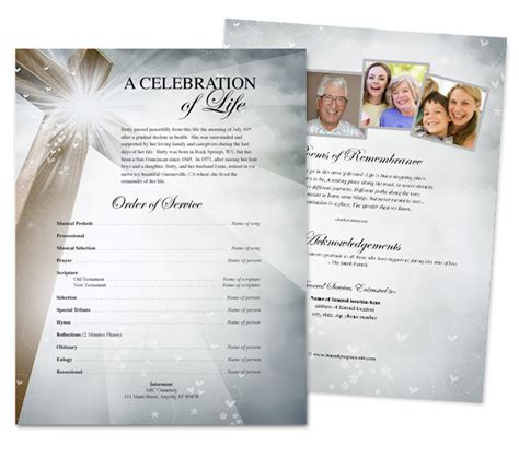 funeral flyer template template superstore adds new line of design with funeral