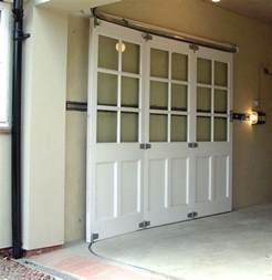25 best ideas about sliding garage doors on