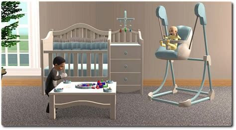 sims 4 nursery 54 sims 2 baby cribs sims2 baby gear daddy types