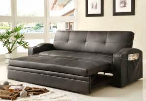 Convertible Sofas And Futons Best Homelegance 4803blk Sofa Bed Review Best Homelegance