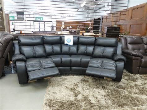 4 seat leather reclining sofa 4 seat reclining sofa recliner sofa with coffee table for