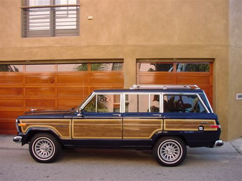 Jeep With Wood Paneling Jeep Grand Wagoneers Professional Ground Up