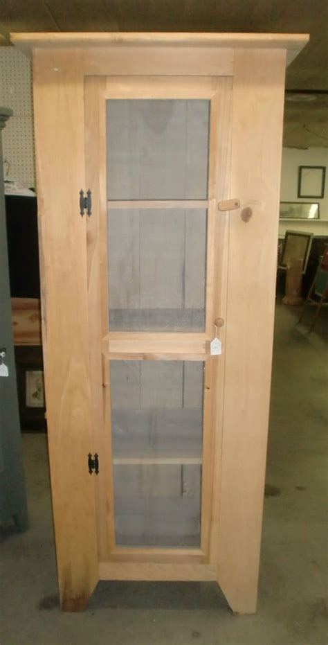 rough cut unfinished raw wood country kitchen pantry