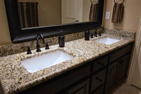 Granite Top Vanity Bathroom by Bathrooms Traditional Vanity Tops And Side Splashes