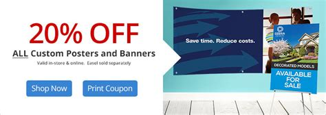 Office Depot Banner Coupons Custom Printing Services Cpd Office Depot Officemax