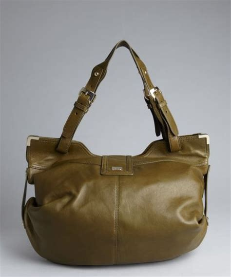 Kooba Large Devin Hobo by Kooba Olive Expandable Flap Large Hobo