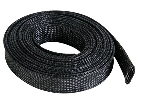 wire sleeve cable sleeve 20mm x 5m black