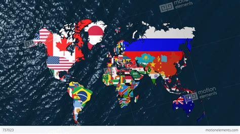 flags of the world libya libya world flag map stock animation 737023