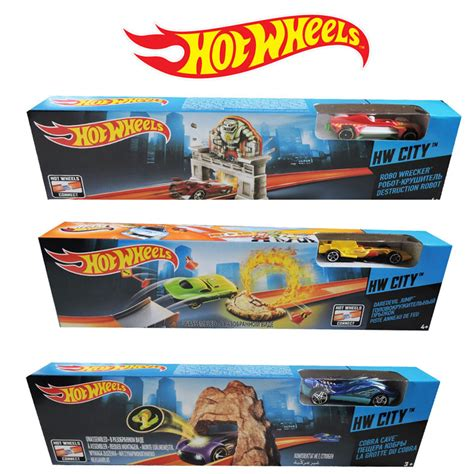 Hotwheels Track Cobra Cave 1 wheels track set asstd the factory shop