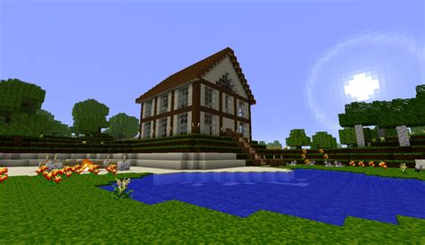 best house best medium spawn house ever minecraft project