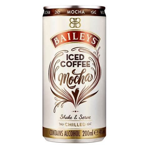 Baileys Coffee morrisons baileys iced coffee mocha 200ml product