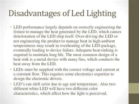 disadvantages of led light bulbs automotive lighting led road lighting