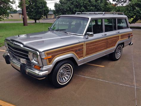jeep wagoneer 1989 jeep grand wagoneer vintage mudder reviews of