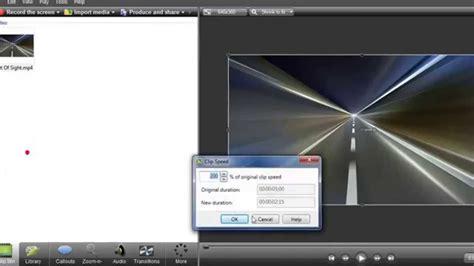 cara membuat video tutorial dengan camtasia studio 7 tutorial camtasia studio cara mengatur kecepatan durasi