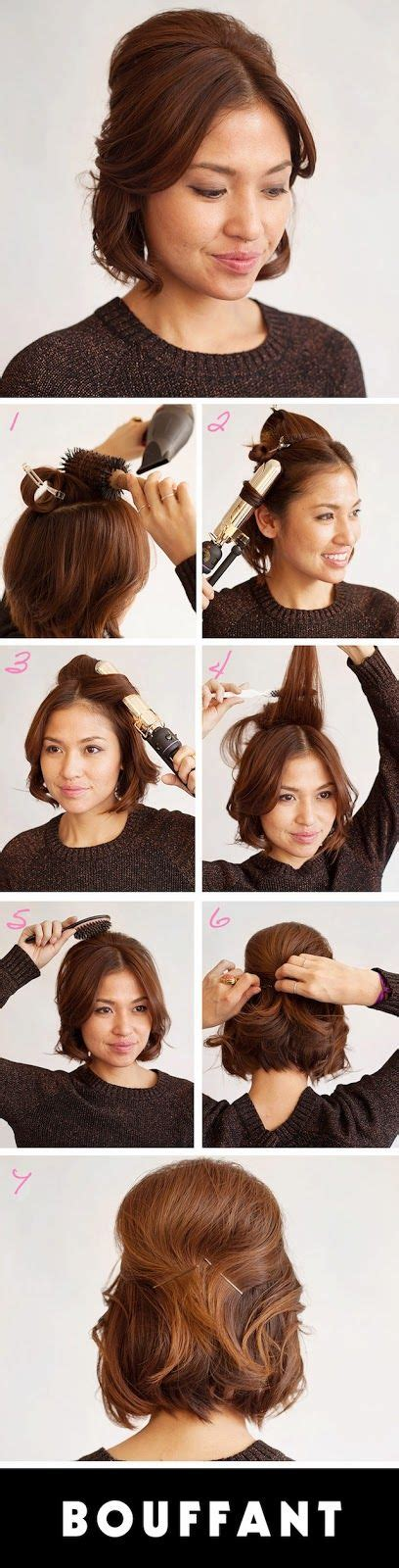 step by step vintage hairstyles 17 best ideas about bouffant hairstyles on pinterest