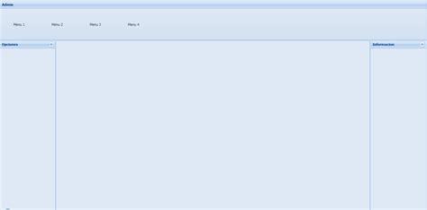 js border layout construyendo una interfaz con layout border de sencha