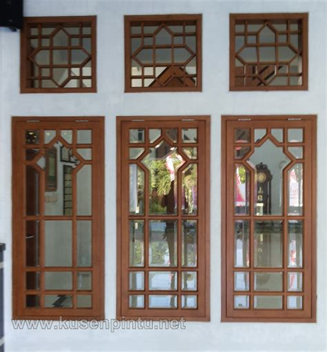 desain jendela masjid jendela masjid jati solid kaca bevel kusen pintu jendela