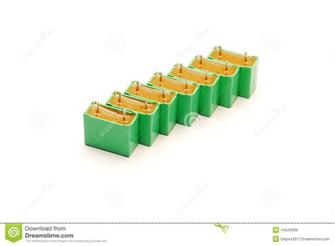 green capacitors green capacitors royalty free stock images image 14543399
