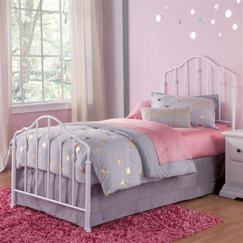 metal headboard and footboard full fashion bed group lorna warm white full headboard and