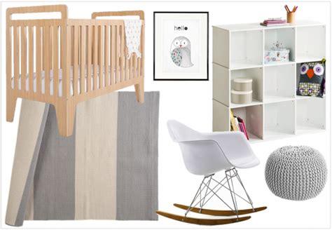 La Chaise Eames Une Chambre Aux Teintes Neutres Pour Le B 233 B 233 D Elodie