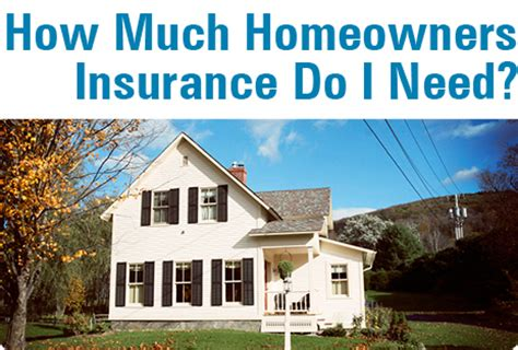 how much homeowners insurance do i need leavitt