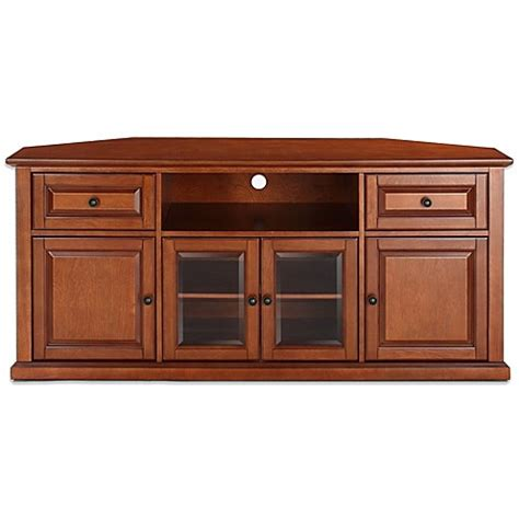 bed bath and beyond cherry hill nj buy crosley 60 inch tv stand in classic cherry from bed