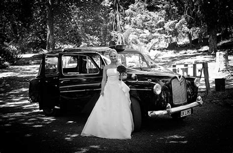 Wedding Car Hire Nelson New Zealand by The Black Cab Company Nelson New Zealand Wedding