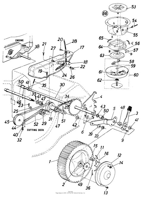 mtd mower parts mtd yardman parts diagram 28 images mtd 652 107 1987