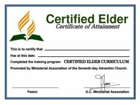 Elder Ordination Certificate Templates   Certificate234