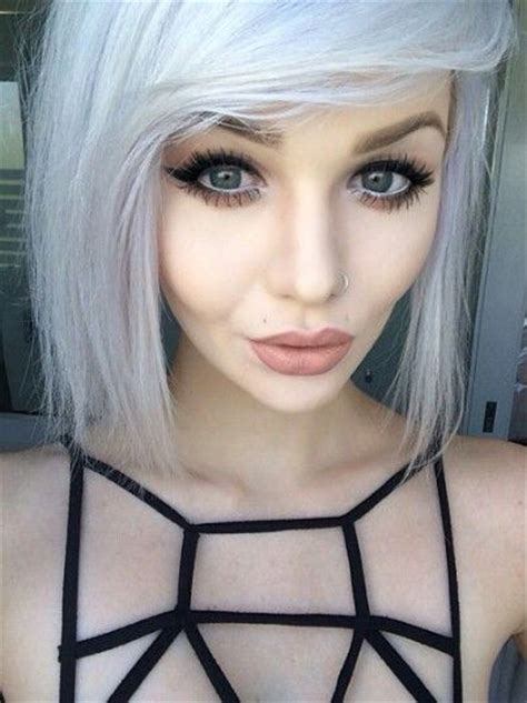 trendy gray hair styles trendy gray hair tops 2016 hairstyle
