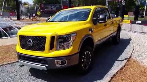 Yellow 2016 Nissan Titan Xd Pro Truck Walkaround