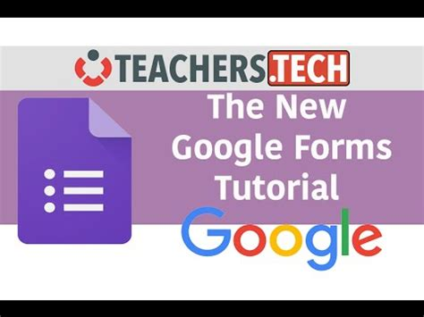 google forms tutorial youtube the new google forms detailed tutorial youtube