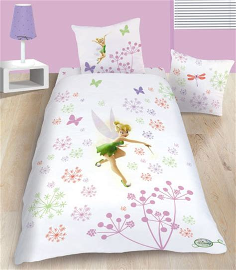 drap housse f 233 e clochette fairies magic 90 x 190 cm plushtoy
