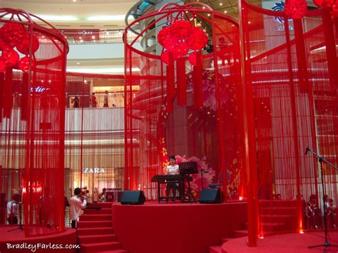 new decoration chinese new year 2010 klcc suria decorations the