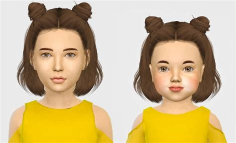 sims 4 kids hair cc leahlillith layla hair kids cc the sims 4 pinterest