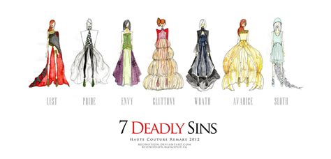 the 7 deadly sins 7 deadly sins remake 2012 by rednotion on deviantart