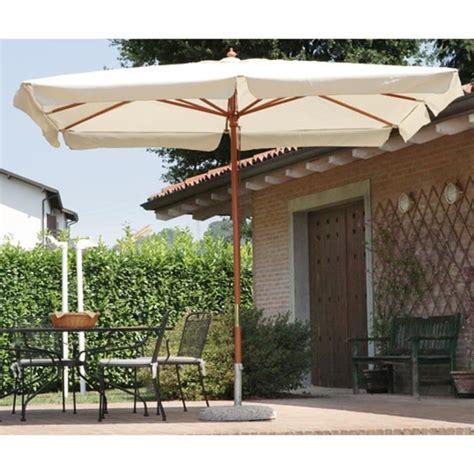 parasol centr 233 rectangulaire 3 x 2 m coloris bois teck