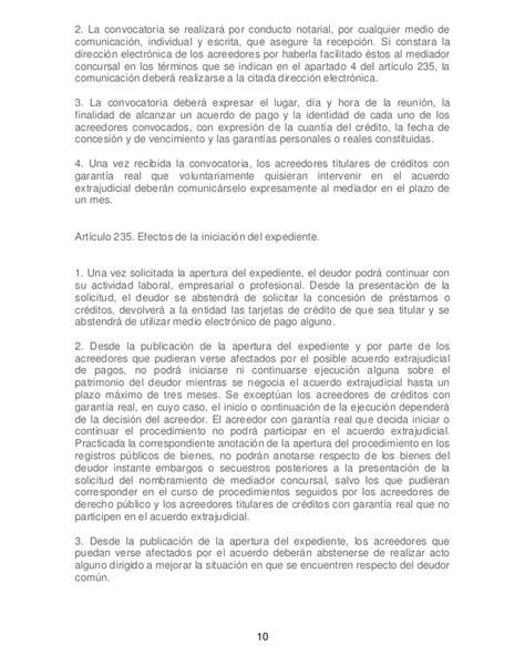 modelo acta notarial de nombramiento de mediador concursal ley de apoyo a emprendedores novedades en 225 rea concursal