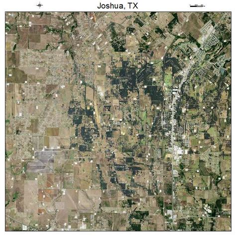 joshua texas map aerial photography map of joshua tx texas