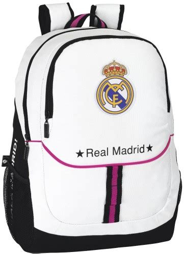 Tas Real Madrid White Black accessoires real madrid