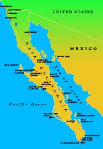 baja california peninsula map baja ecotours maps of baja california