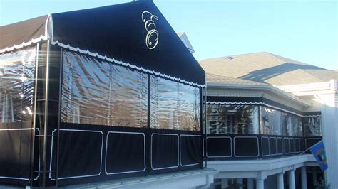 Deck Tarp Awning Custom Enclosures For Your Deck Porch Or Patio